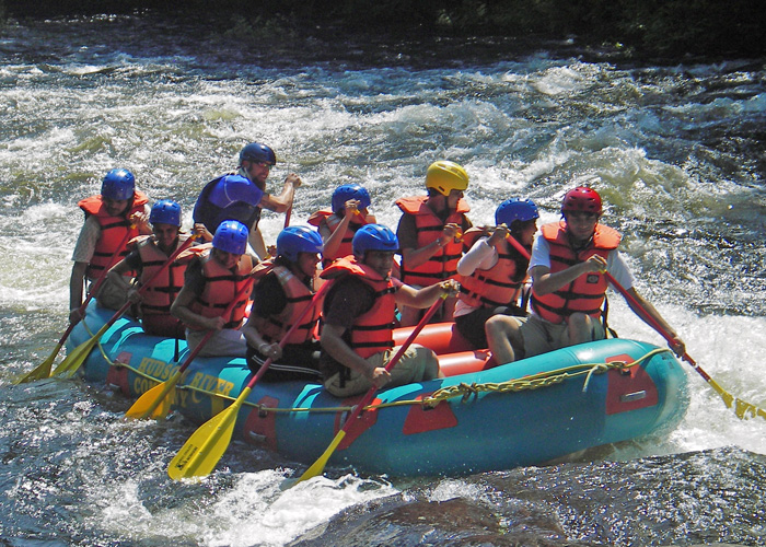 Spring Summer Fall For Whitewater Rafting