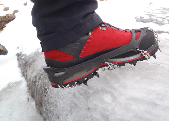 Lowa Mountain Expert Boots Perform Perfectly On Snowy Mountains