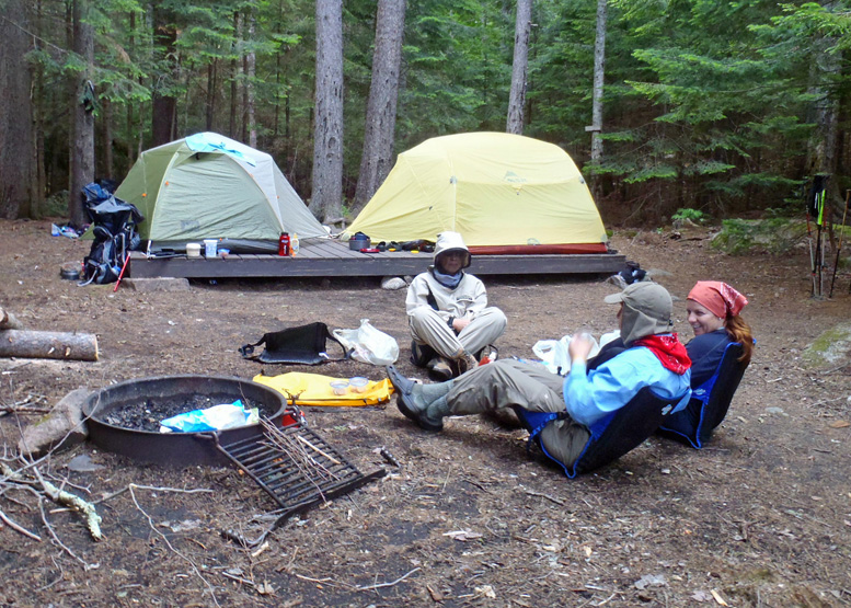 Free-standing tents are easier to set up on tent platforms but you still need to secure them to keep them from flying away if the wind gets strong. & How To Pick The Right Tent For YOU