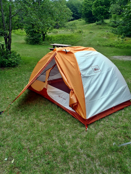 Plenty of headroom makes the REI Half Dome 2 ... & Mid-Priced Two-Man Tents Review