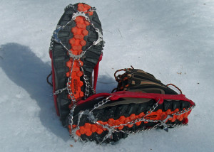 Kahtoola MICROspikes were the first of a new category of trail traction aids and are still stalwart performers. (EasternSlopes.com)