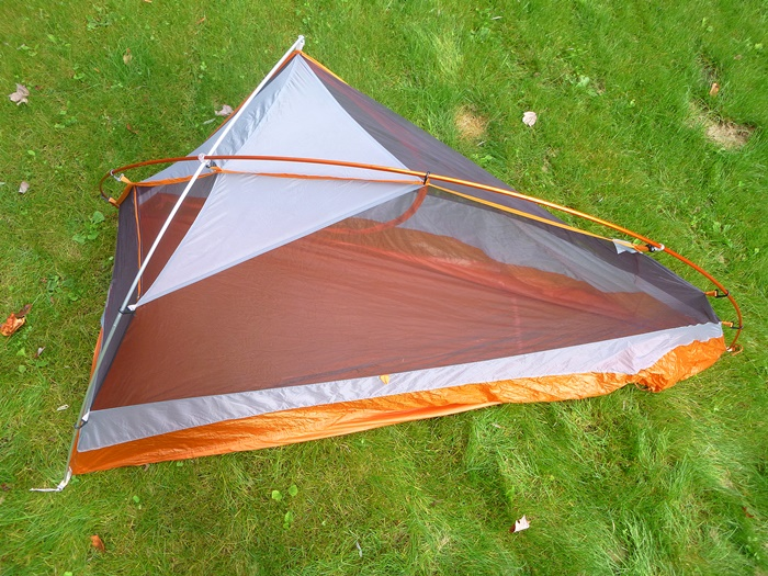 REIu0027s unusual pole architecture is functional and fairly easy to set up IF you practice & REI Quarter Dome 1 Tent - EasternSlopes.com